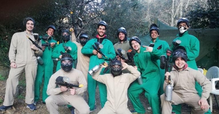 Grupo de Vilchez de Paintball